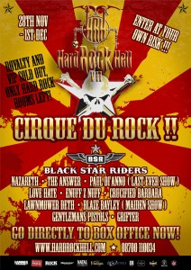 Hard Rock Hell 2013