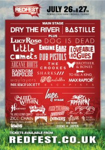 Redfest poster april 11