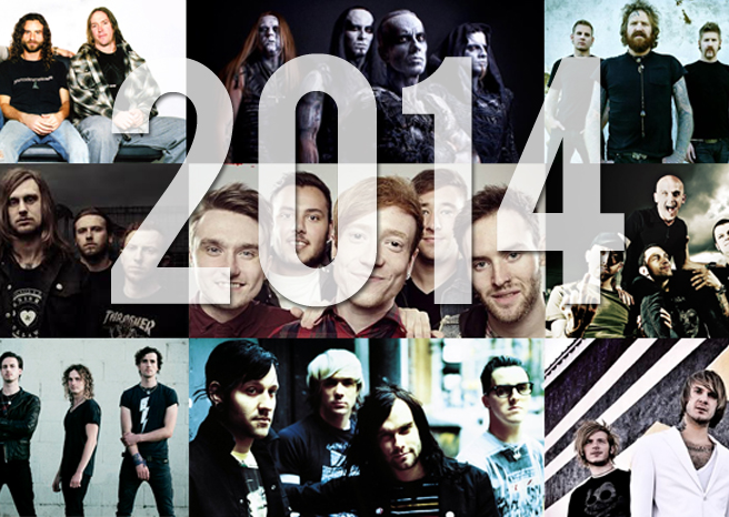 rock and metal in 2014