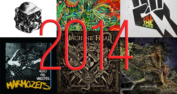 top rock and metal albums 2014