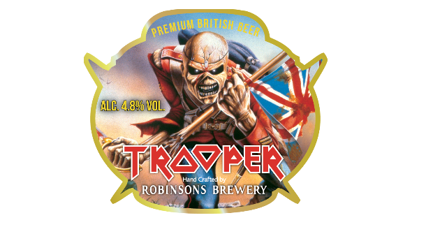 trooper iron maiden ale