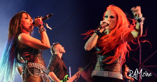 Butcher Babies at Download Festival 215