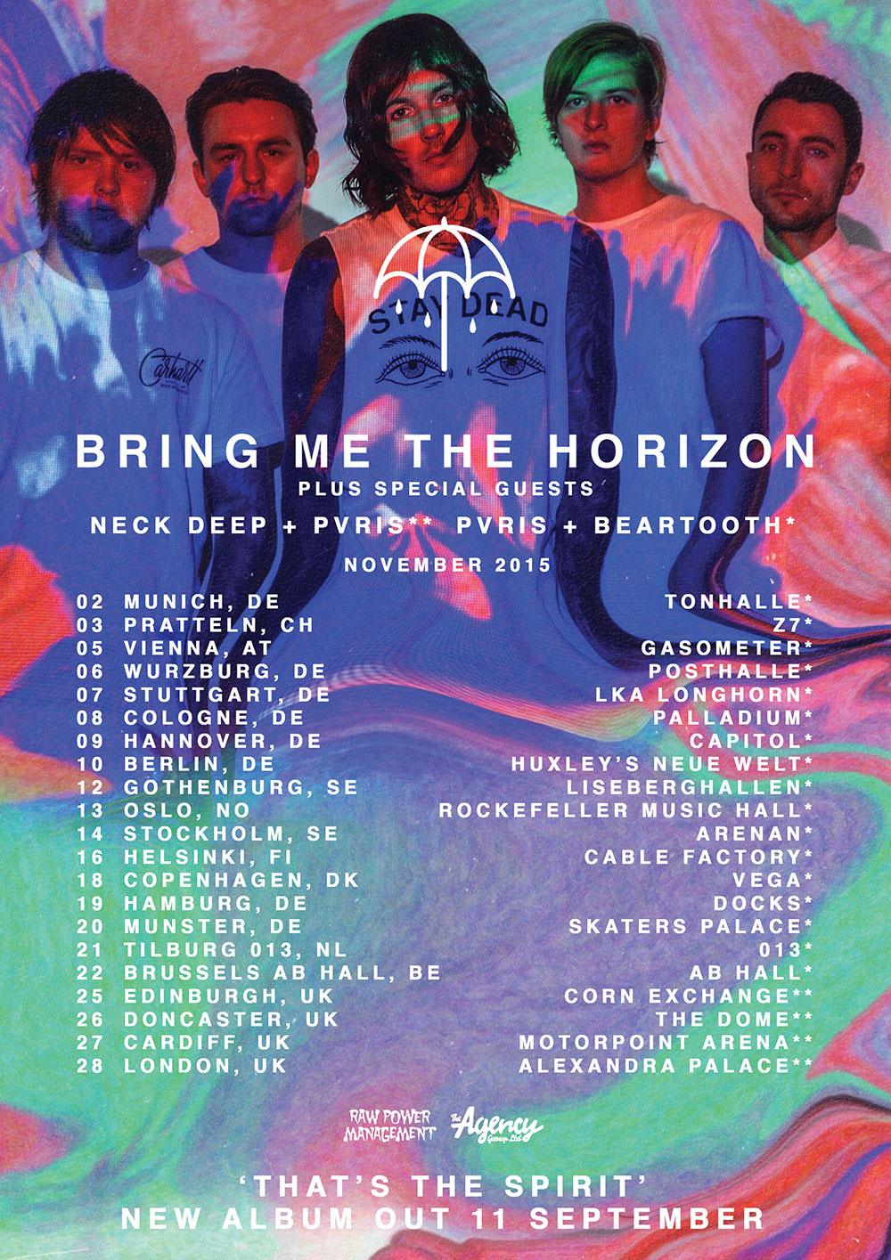 Bmth Tour Dates Uk