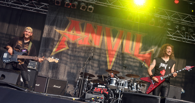 Anvil at MetalDays 2015. Photo by Victoria Purcell