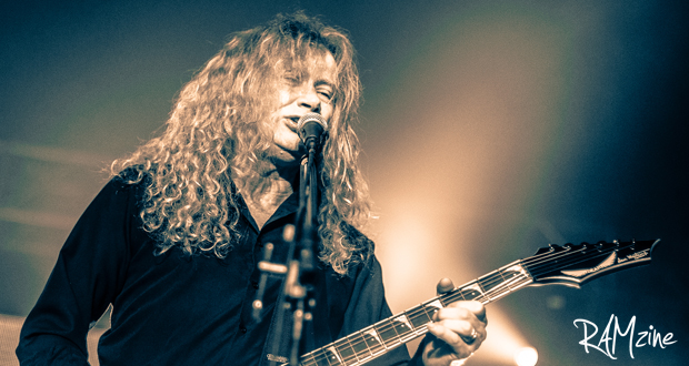 Dave Mustaine of Megadeth.  Photo by Jay Russell (Milk & Sugar Photography)