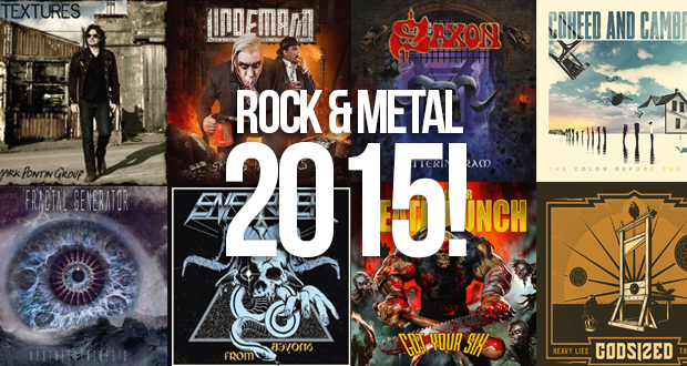 rock and metal albums 2015