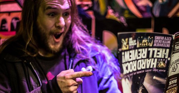 Alan Cassidy of Black Dahlia Murder. Photo by Jay Russell.