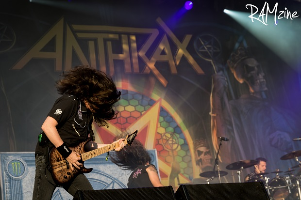Jon Donais of Anthrax