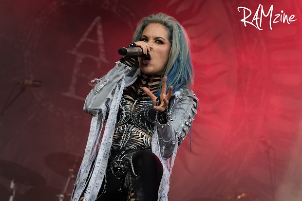 Alissa White-Gluz of Arch Enemy