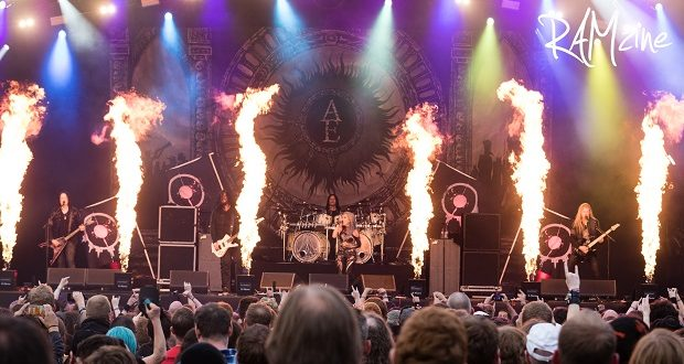 Arch Enemy at Bloodstock 2017