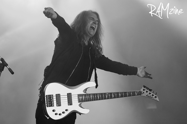 Dave Ellefson. Photo by Ash Crowson