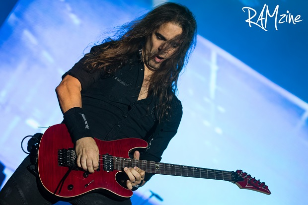 Kiko Loureiro. Photo by Ash Crowson