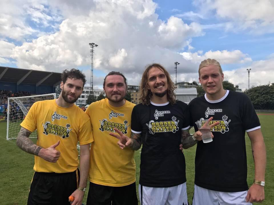 The Darkness at Soccer Six