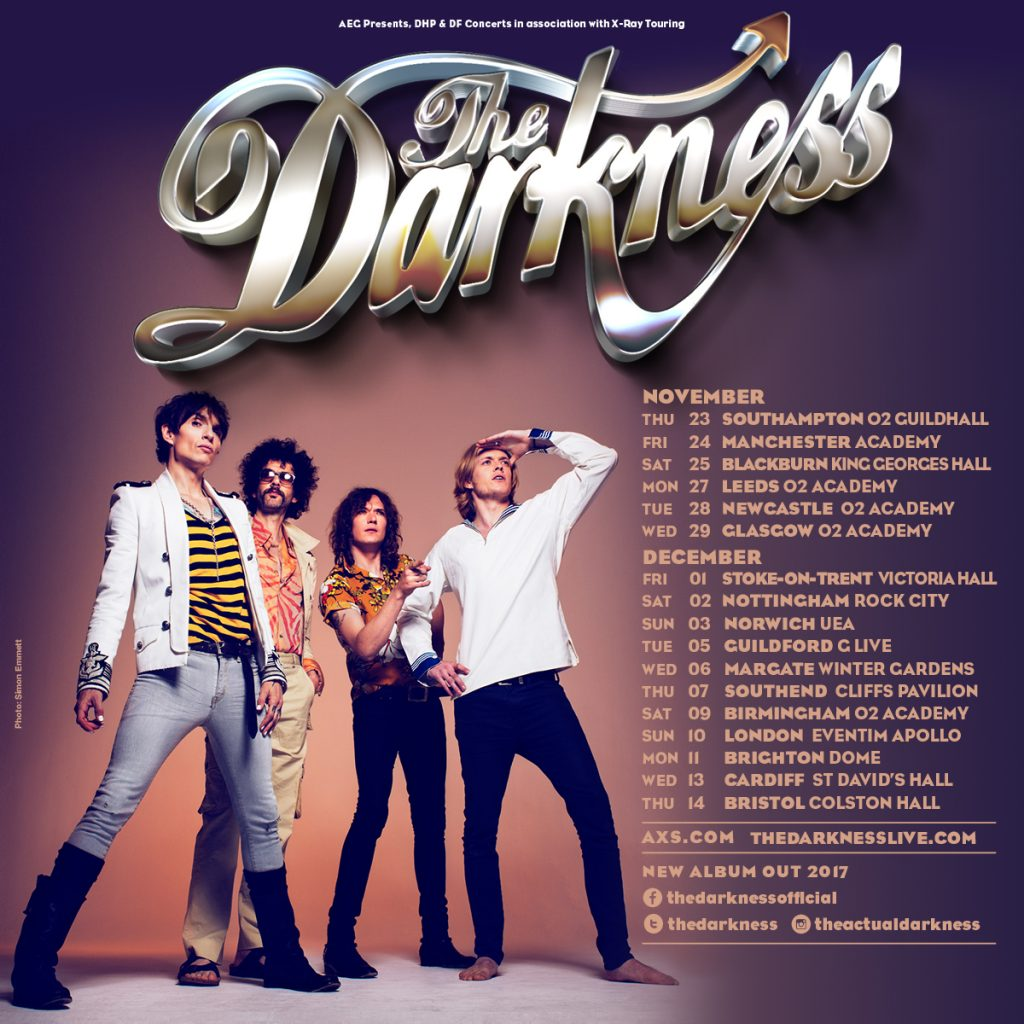 The Darkness UK Tour