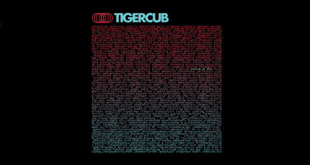 Tigercub - Evolve or Die