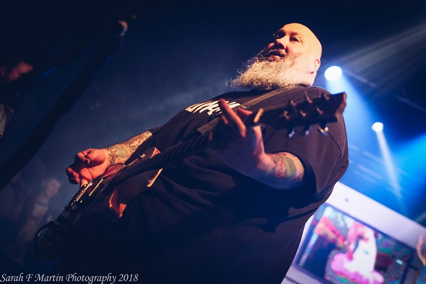 Chris Burney of Bowling For Soup. Photo by Sarah Martin.