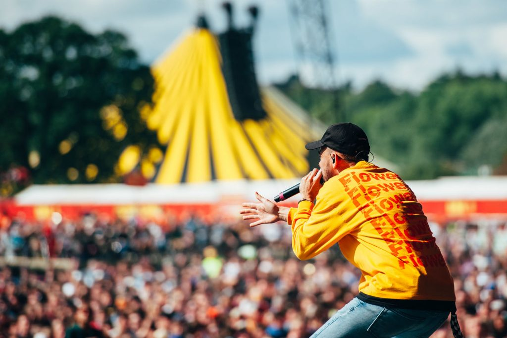Mike Shinoda at Reading Festival
