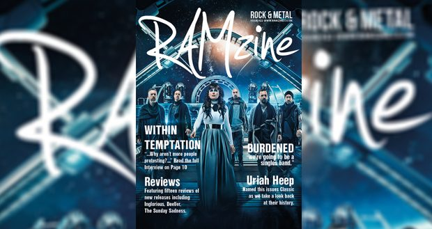 RAMzine 22 | Within Temptation, Burdened, Uriah Heep