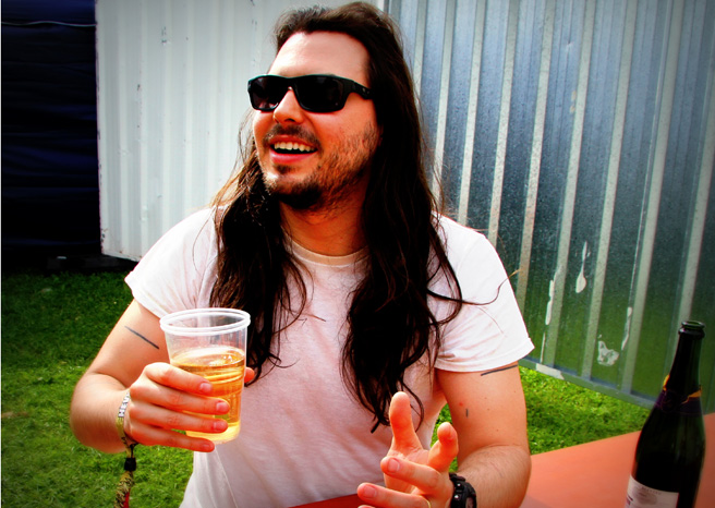 Andrew WK Interview @ Hevy Festival