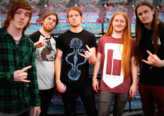 Bleed From Within Interview @ Hevy Festival