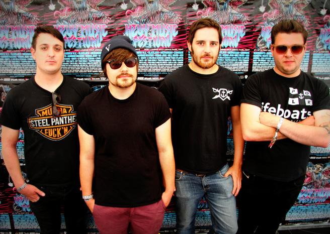 Golden Tanks Interview @ Hevy Festival