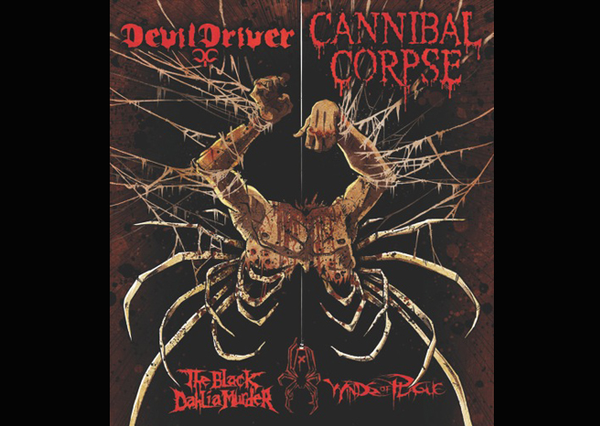 THE BLACK DAHLIA MURDER announced for DevilDriver and Cannibal Corpse tour