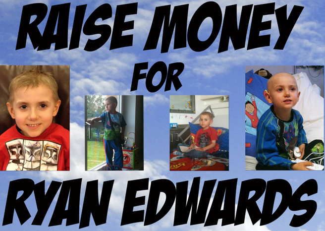 RAMZINE LAUNCH A CHARITY AUCTION FOR THE RYAN EDWARDS APPEAL
