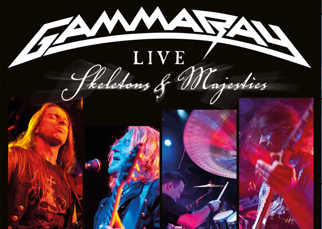 Gamma Ray release stunning live performance in HD on 2CD, DVD and Blu-ray  via earMUSIC on the 3rd December 2012