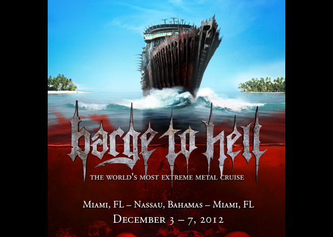 Heavy Metal Cruise ….BARGE TO HELL adds to line-up!