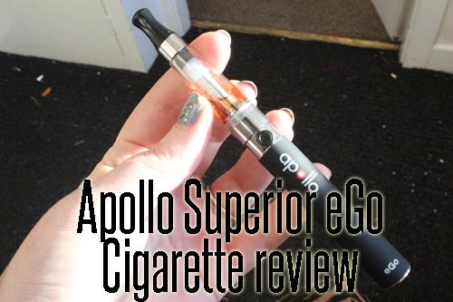 Product Review – Apollo Superior eGo Cigarette Kit