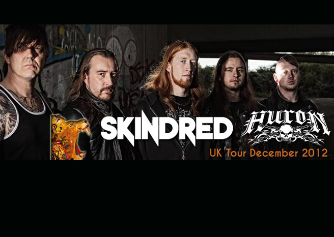 Huron join Skindred on December Tour!