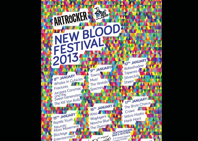 Artrocker NEW BLOOD Festival 2013