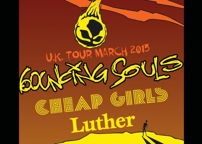 BOUNCING SOULS ANNOUNCE MARCH 2013 UK TOUR