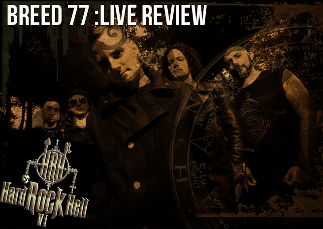 Live Review: Breed 77 @ Hard Rock Hell