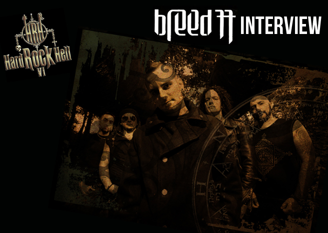 BREED 77 INTERVIEW @ HARD ROCK HELL