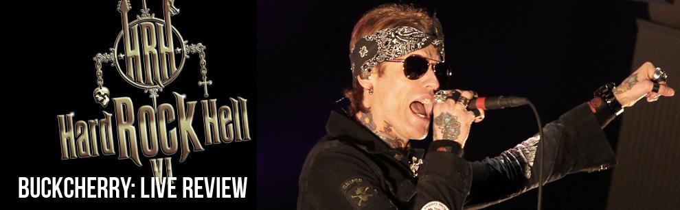 Live Review: Buckcherry @ Hard Rock Hell