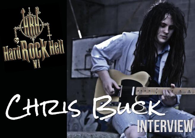 Chris Buck Interview @ Hard Rock Hell