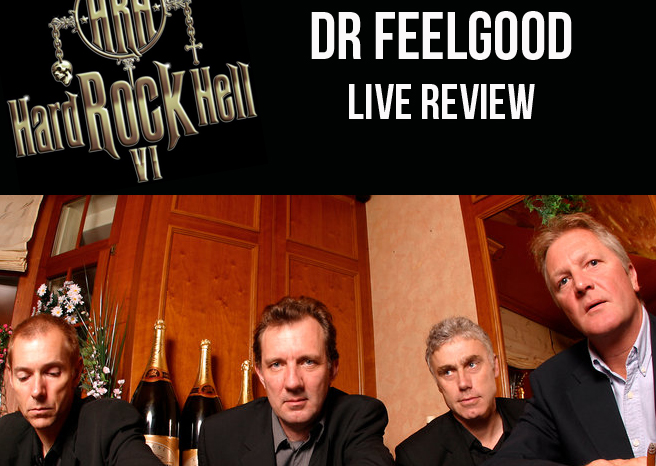 Live Review: Dr Feelgood @ Hard Rock Hell