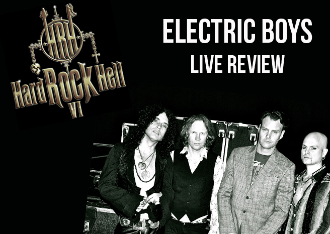 Live Review: Electric Boys @ Hard Rock Hell