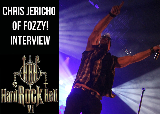 CHRIS JERICHO OF FOZZY INTERVIEW @ HARD ROCK HELL