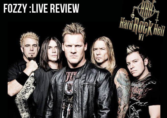 Live Review: Fozzy @ Hard Rock Hell