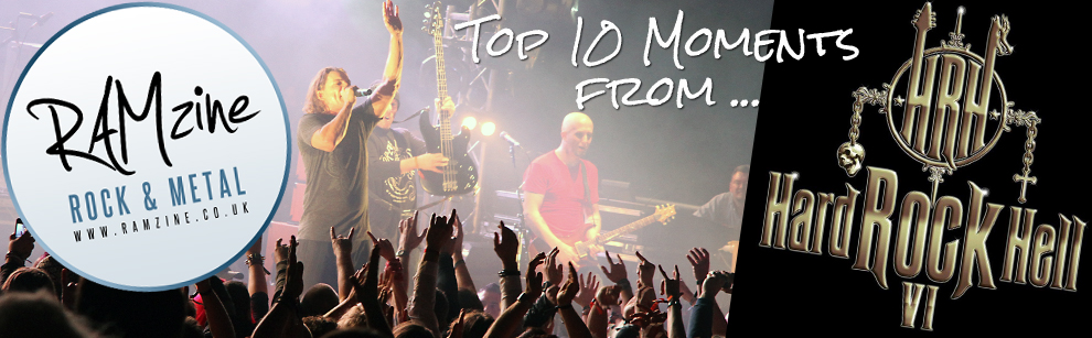 RAMzines Top 10 moments from Hard Rock Hell 2012!