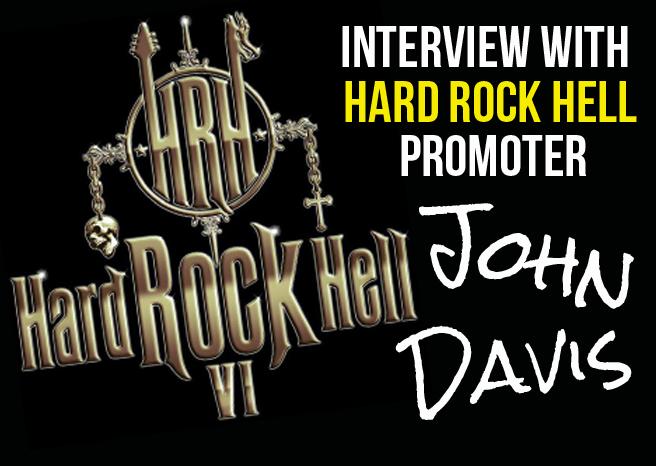 JOHN, HARD ROCK HELL PROMOTER INTERVIEW @ HARD ROCK HELL