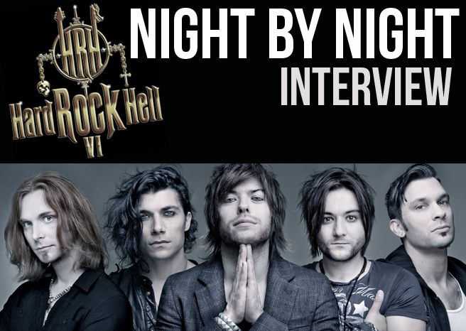 NIGHT BY NIGHT INTERVIEW @ HARD ROCK HELL