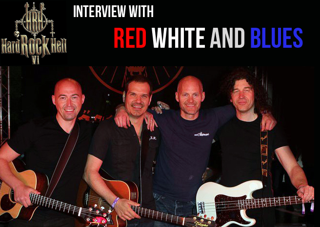 RED WHITE AND BLUES INTERVIEW @ HARD ROCK HELL