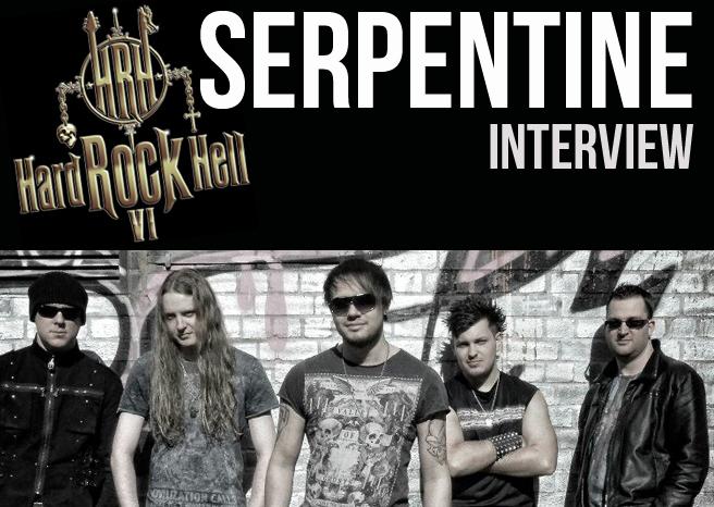 SERPENTINE INTERVIEW @ HARD ROCK HELL