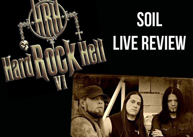 Live Review: SOiL @ Hard Rock Hell