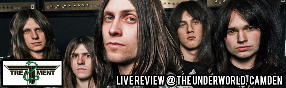 Live Review: The Treatment at The Underworld,Camden