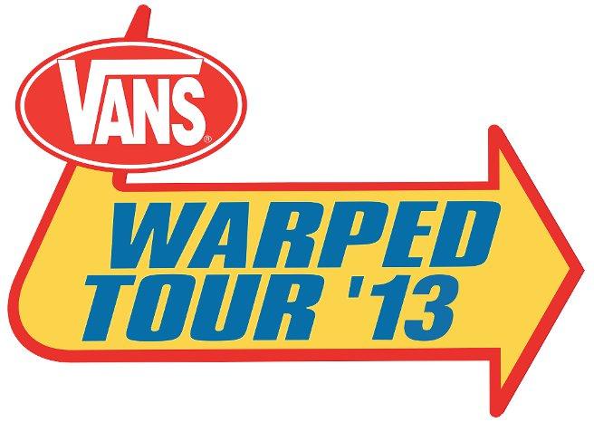 VANS WARPED TOUR 2013 MAKE FIRST ANNOUNCEMENT
