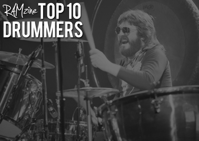RAMzines Top Ten Drummers